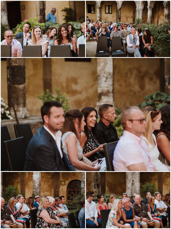 The cloisters Sorrento Italy