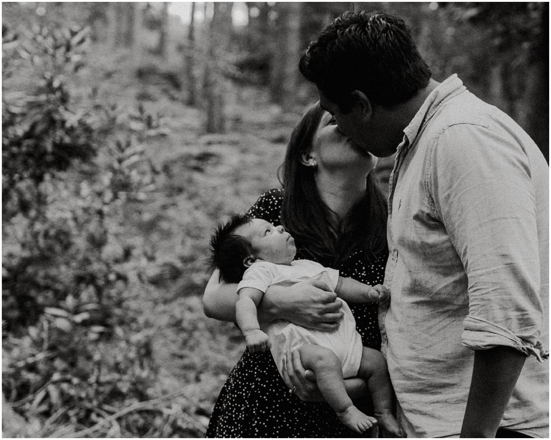 Woodland family photoshoot