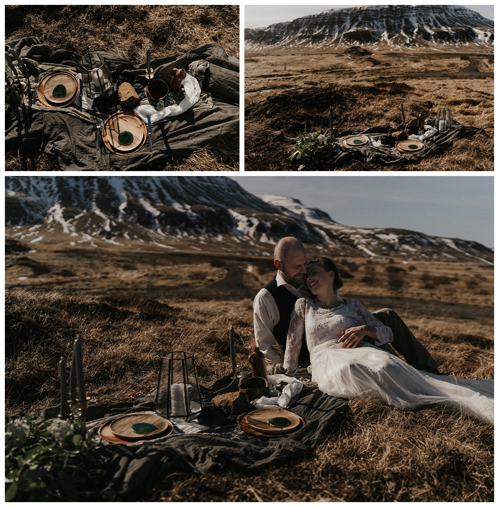 Iceland styled shoot