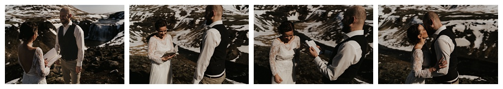 Sunny Iceland elopement